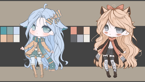 Adoptable Chibi Auction Set#3 CLOSED by Nagashia