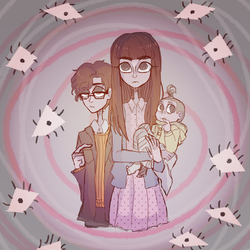 Baudelaire children by Inked-Vision