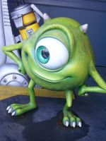 Monsters inc, Mike. by Gratian-Grime