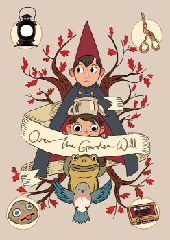 Over The Garden Wall by tohdraws