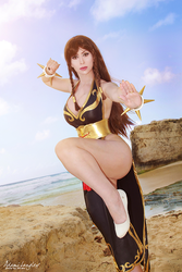 Chun-Li - Battle Costume Street Fighter V cosplay by adami-langley