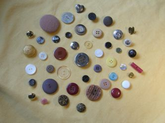 Buttons 2 Various by Gwathiell
