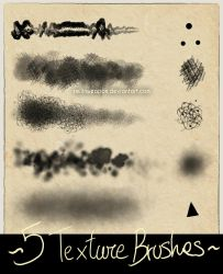 Free Photoshop Texture Brushes by smilinweapon