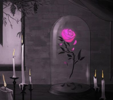 Beauty and the Beast animated intro by Woodsie-One