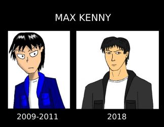 Max Kenny: Then and Now by DTrinidad