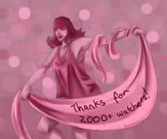 Thanks for 2000+ watchers! by aerococonut
