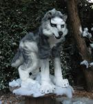 wolf husky costume by LilleahWest