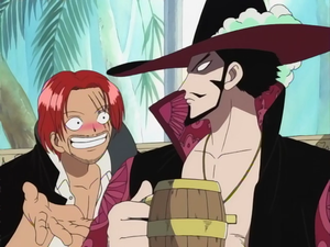 One Piece] Shanks x Reader x Mihawk - My Idiots by icemaidenthorn on
