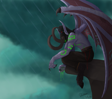 Illidan by DeskEcho