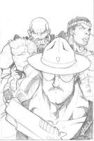 Sgt. Slaughter and Crew by DCON