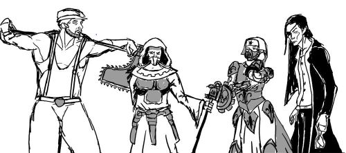 Inquisitors Acolythes by drachenwinter