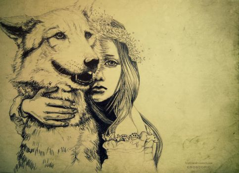 the girlwolf by byalicia