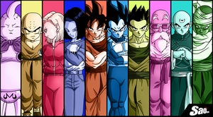 Guerreros del Universo 7 - Warriors Of Universe 7 by SaoDVD