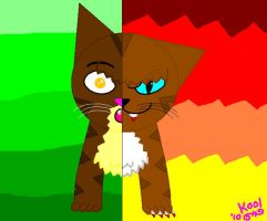 *OLD* Brambleclaw and Hawkfrost by koolkittykat04
