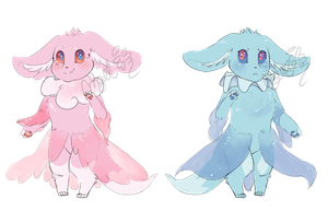 point adopts -CLOSED- Eevee/Frillish