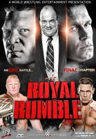 WWE Royal Rumble 2015 Poster by Dinesh-Musiclover