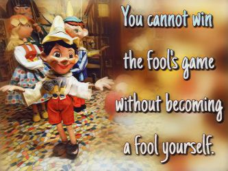 Be not a fool by ExposeTheBeauty