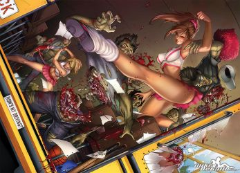 Zombies Vs. Cheerleaders Relaunch by SquirrelShaver