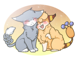 PKMN| Kitty Cuddles by DevilsRealm