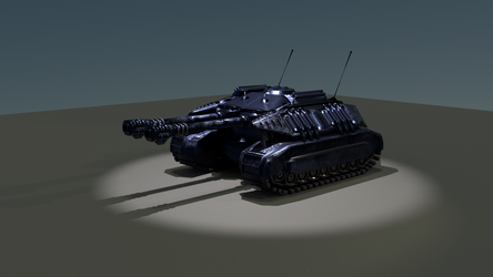 Bishop.Light tank.2 by TheBigTricky