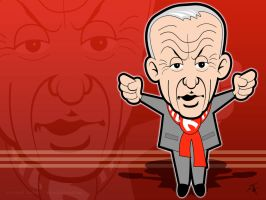Bill Shankly Wallpaper by kitster29