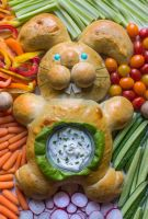 Easter Bread Bunny by Kitteh-Pawz