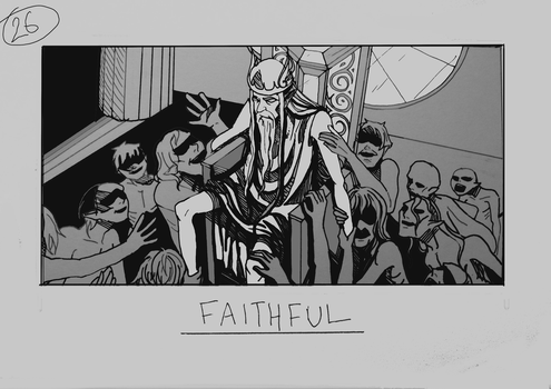 Day 26 - Faithful by Inui-Purrl