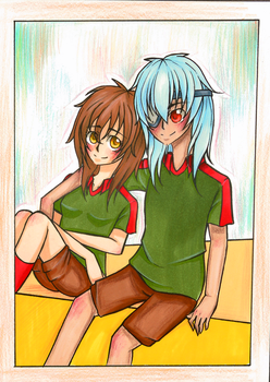 Contest: Angel and Sakuma by Cherrylt