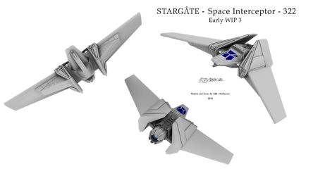 Stargate - F-302 Replacement WIP by Mallacore