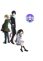 Noragami 01 Render by AeNa34