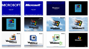 Classic Windows Boot Screens for Windows 7 by xulfikar