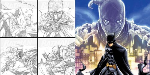 BATMAN V SCARECROW by deemonproductions