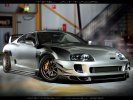 Toyota Supra Time Attack by tuninger