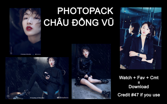 [Share] Photopack Zhou Dong Yu by ThienTuoc1910