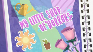 MLP EQG My Littel Shop of Horros  part Name by Wakko2010