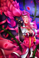 Queen of Roses by MikomiKisomi