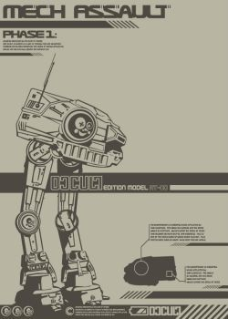 AT-OC Mech Assault by crackaboo