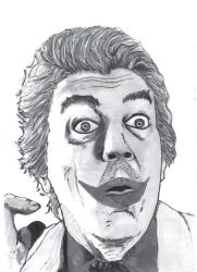 CESAR ROMERO AS THE JOKER by McMeowingtons