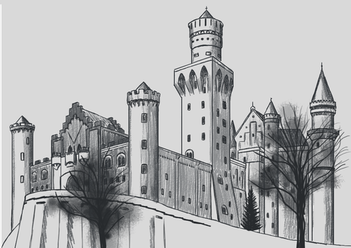 Castle by Jeriv