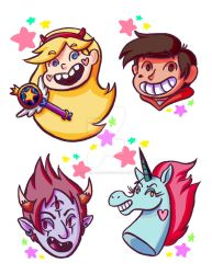 Star vs the Forces of Evil by Cythia-0live