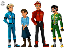 Cars: Racing World Folks by Aileen-Rose