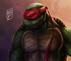 Teenage Mutant Ninja Turtles - Raphael by Trance-Sephigoth