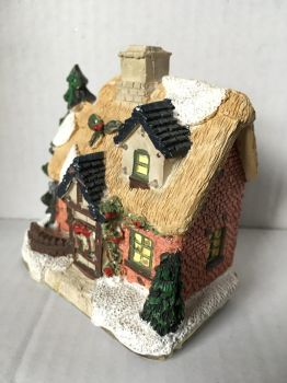Christmas House Ornament 4 by wintersmagicstock