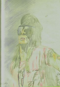 Axl Rose Colour by musehick