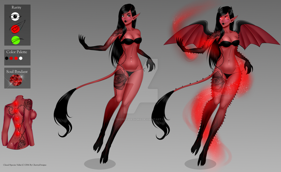 Valix: The Lust - finished sheet by CherrysDesigns