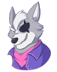 Wolf O'Donnell by MexicanYurtle