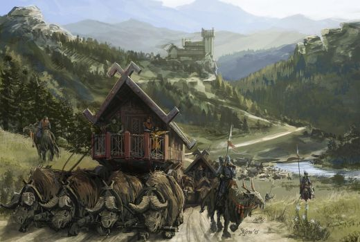 March of the Nomads by K-Kom