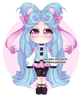 CLOSED Pastel Adoptable AUCTION by EternalMasque