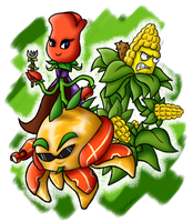 New Heroes of the Garden Warfare by BoxBird