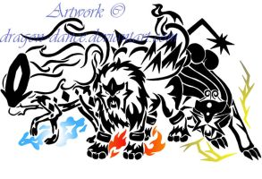 Tribal Raikou, Entei and Suicune Commission